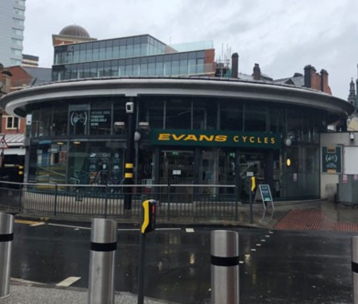 Evans Cycles Leeds Station