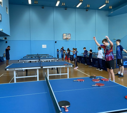 London Moberly Table Tennis Club