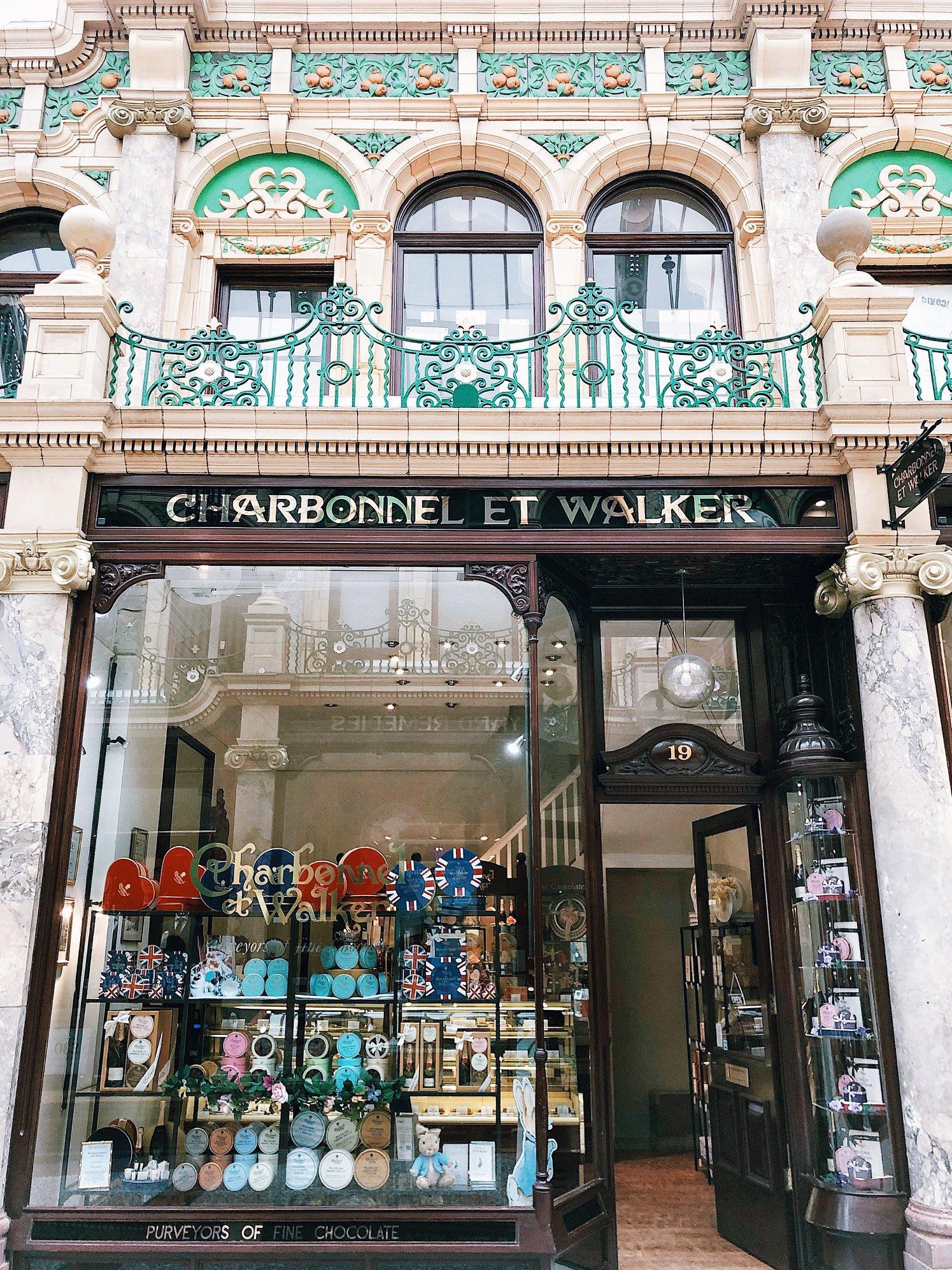 Charbonnel Et Walker