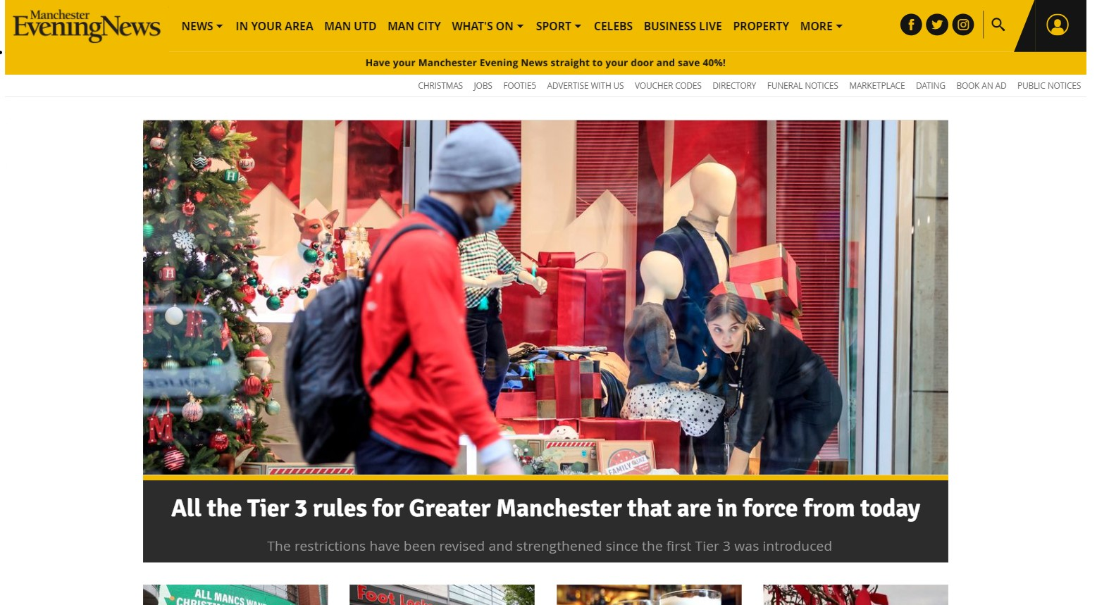 Men Media Ltd: Manchester Evening Newspaper