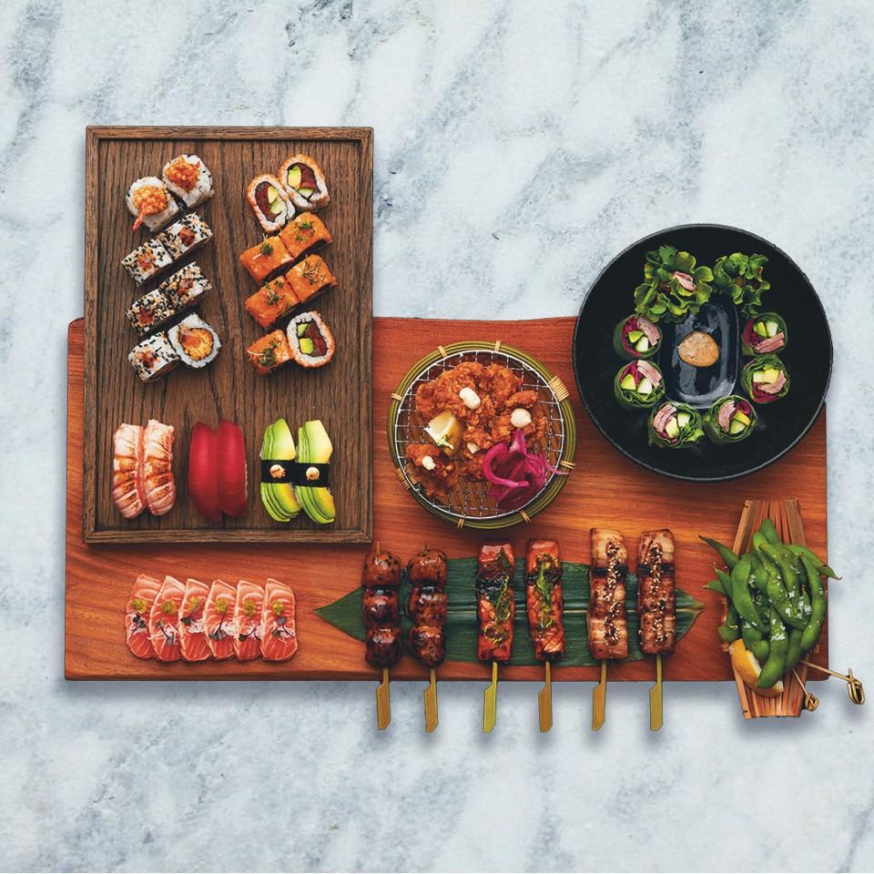 Sticks'n'Sushi Covent Garden