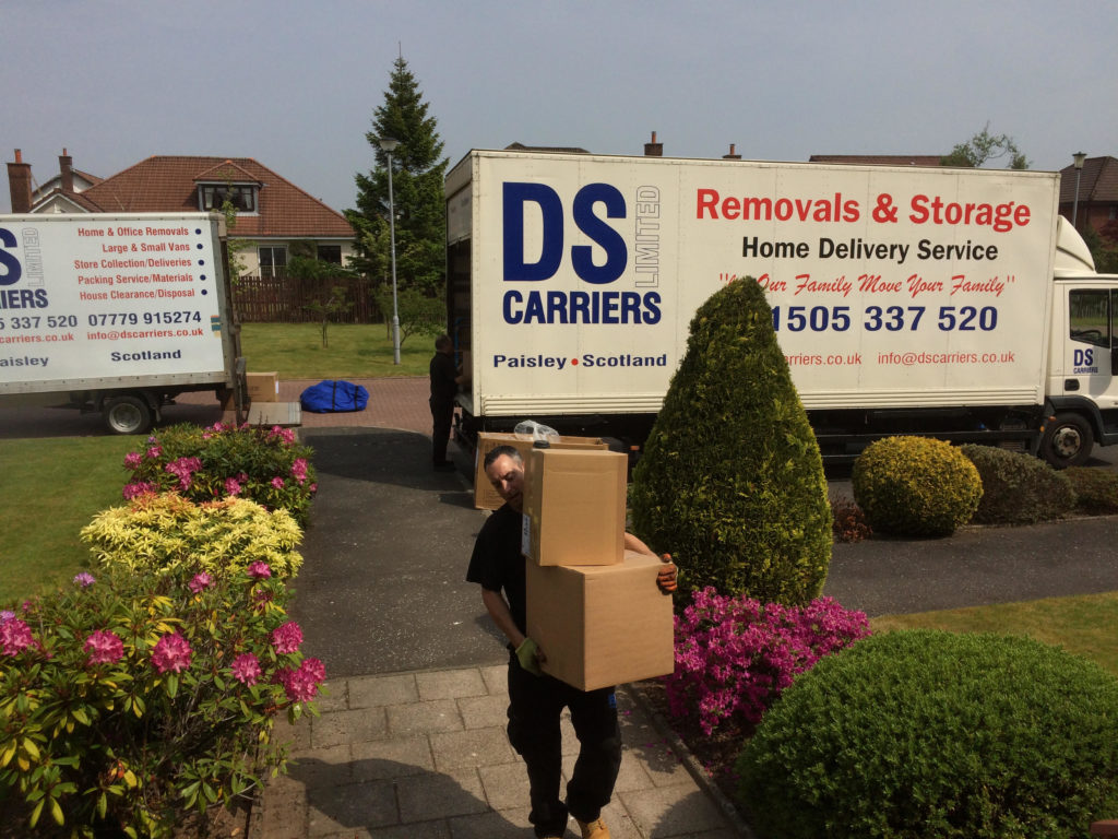 DS Carriers Removals Glasgow