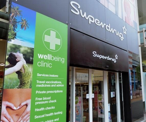 Superdrug Travel Clinic