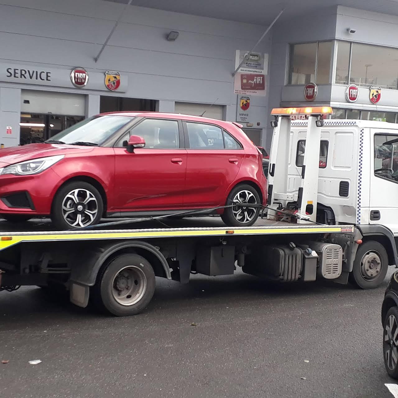 Car Breakdown Liverpool