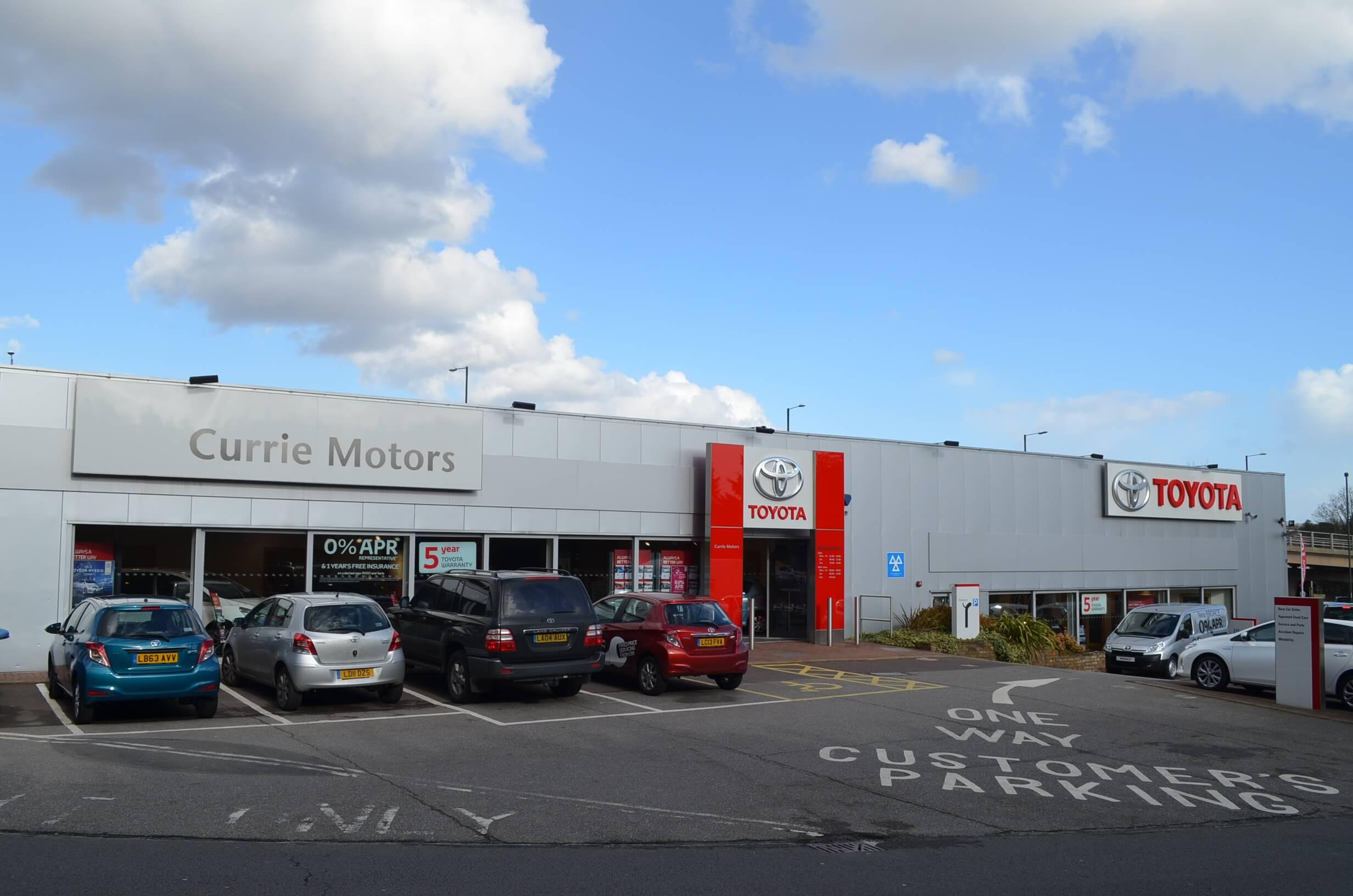 Currie Motors Toyota Kingston