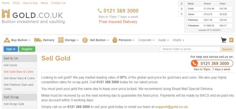 Gold Co UK