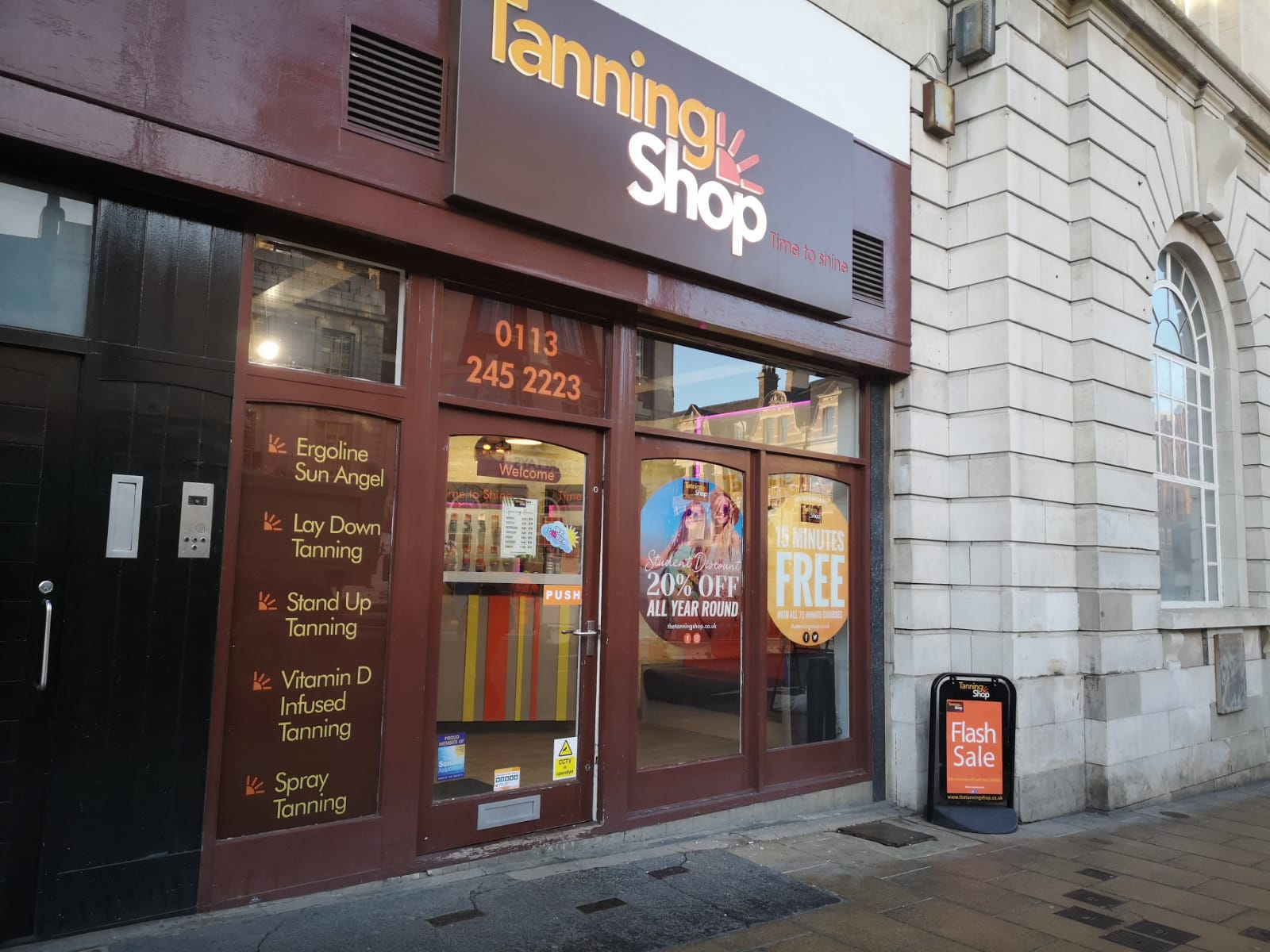 The Tanning Shop, Leeds Central